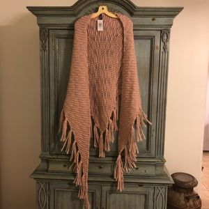 TORRID pink knit shaw 💓💓 NWT